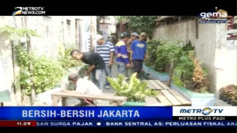 HUT ke-489, Pemprov DKI Gelar Program Bersih-bersih Jakarta