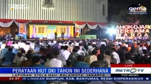 Perayaan HUT DKI ke-489 di Balai Kota Berlangsung Sederhana