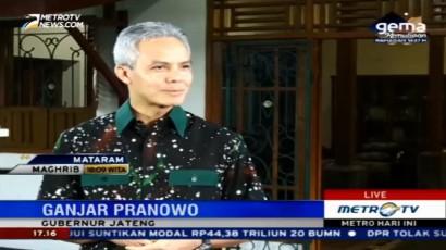 Ganjar Pranowo Bicara Soal Banjir dan Longsor di Jateng
