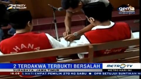 Dua Pelaku Pembunuhan Salim Kancil Divonis 20 Tahun Penjara