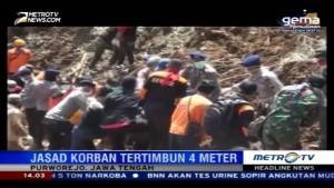 Tim SAR Kembali Temukan Korban Tewas Longsor di Purworejo