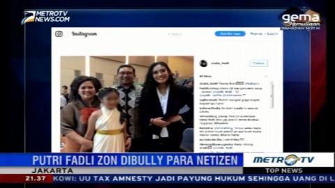 Akun Medsos Putri Fadli Zon <i>Dibully</i> Netizen