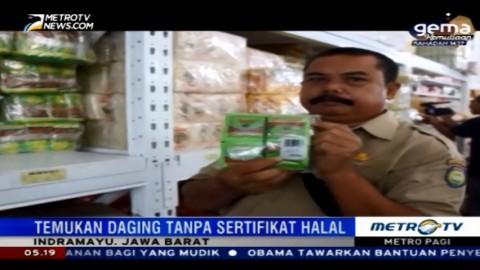 Petugas Gabungan Sidak Sejumlah Pasar di Indramayu