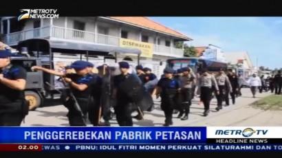 Penggerebekan Pabrik Petasan di Sumbawa