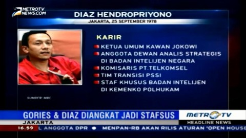 Jokowi Angkat Dua Staf Khusus Baru