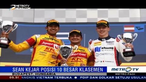 Sean Gelael Incar Poin di GP2 Hungaria