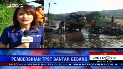 Dinas Kebersihan DKI Kerja Bakti Massal di TPST Bantar Gebang