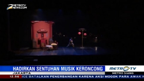 Indonesia Kita Pentaskan Teater Doea Tanda Tjinta