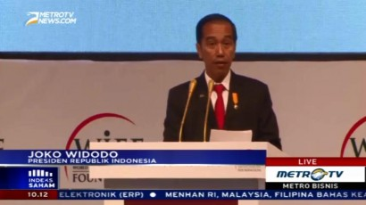 Sambutan Jokowi di World Islamic Economic Forum 2016