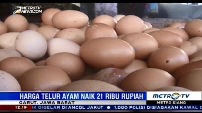 Harga Telur Ayam di Wilayah Jabar Alami Kenaikan