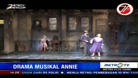 Drama Musikal Annie akan Tampil Perdana di Jakarta