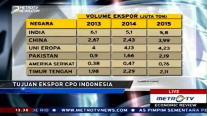Data Produksi dan Ekspor Minyak Sawit Indonesia
