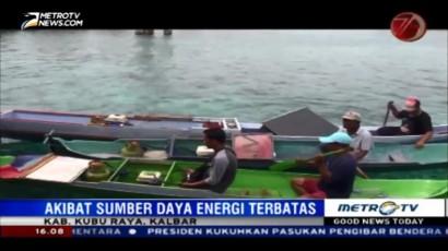 Nelayan di Kubu Raya Rancang Perahu Berbahan Bakar Gas