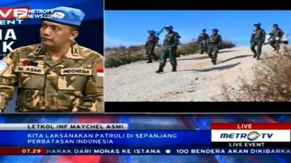Pasukan Perdamaian Indonesia Disambut Positif Warga Lebanon