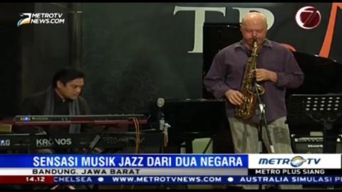 Sensasi Kolaborasi dari Dua Negara di The Papandayan Jazz