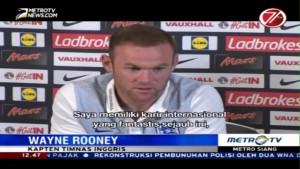 Rooney akan Pensiun dari Timnas Usai Piala Dunia 2018