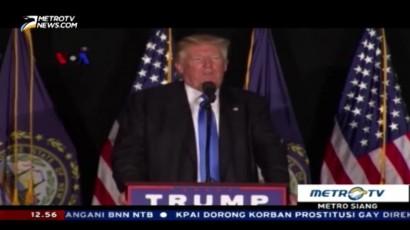 Trump akan Bangun Dinding Perbatasan AS-Meksiko
