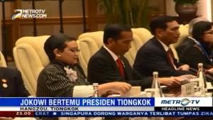 Tiba di Tiongkok, Jokowi Gelar Pertemuan dengan Presiden Xi Jin-ping