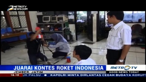 Inovasi Roket Karya Mahasiswa Asal Jember
