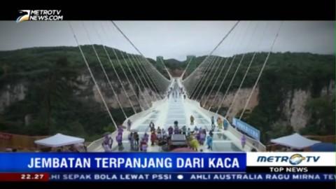 Jembatan Terpanjang dari Kaca