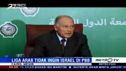 Liga Arab Berupaya Cegah Keanggotaan Israel di PBB