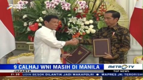 Jokowi Berterima Kasih kepada Duterte