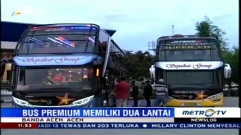 Menikmati Perjalanan Banda Aceh-Medan dengan Bus Super Mewah