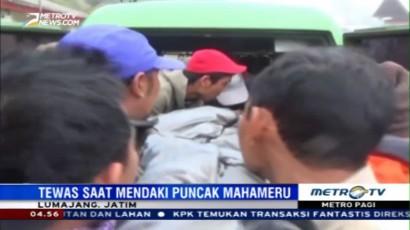 Pendaki yang Tewas di Gunung Semeru Berhasil Dievakuasi