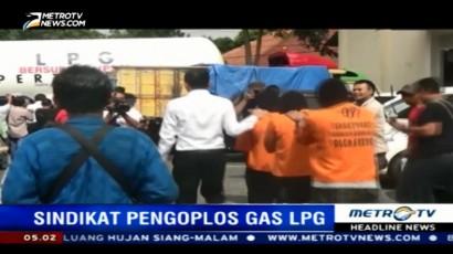 Polisi Ungkap Sindikat Pengoplos Gas Bersubsidi di Semarang