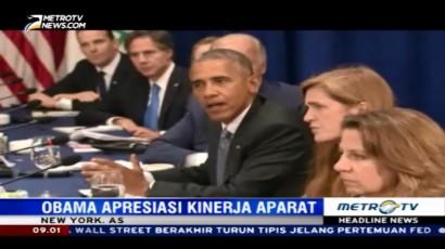 Obama Apresiasi Kinerja Aparat Ringkus Pengebom New York
