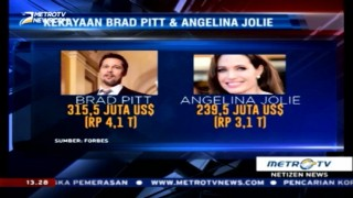 Cerai, Begini Pembagian Harta Brad Pitt & Angelina Jolie