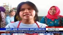 Mary Jane Berlinang Air Mata Saat Nyanyikan Indonesia Raya