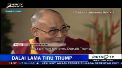 Ini Tanggapan Dalai Lama Saat Ditanya Soal Trump