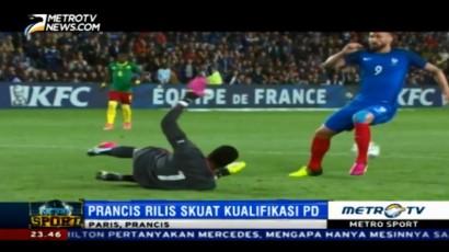 Prancis Rilis Daftar Skuat Kualifikasi Piala Dunia