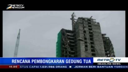 Gedung Tua di Bintaro Dibongkar, Warga Khawatir Terkena Dampak