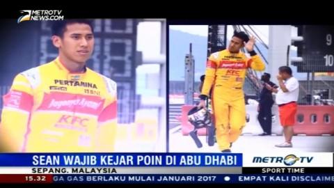 Tidak Maksimal di Sepang, Sean Wajib Kejar Poin di Abu Dhabi