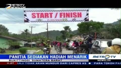 Sensasi Bersepeda Sambil Menikmati Pesona Gunung Bungsu