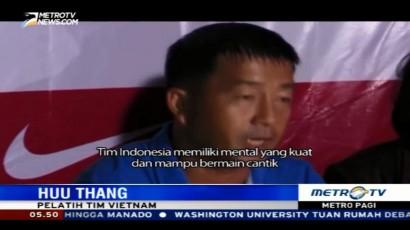 Penampilan Timnas Indonesia Dipuji Pelatih Vietnam