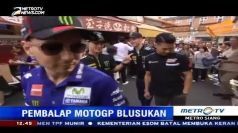 Jelang MotoGP Jepang, Para Pembalap Blusukan ke Pasar Ikan Tsukiji