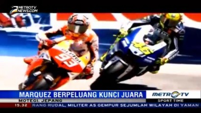 Marc Marquez Berpeluang Mengunci Gelar Juara Dunia di Motegi