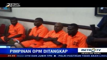 Polisi Tangkap Empat Pimpinan Organisasi Papua Merdeka