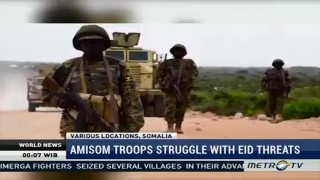 AMISOM Troops Struggle with IED Threat in Somalia