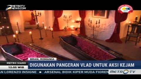 Bermalam di Istana Drakula Saat Halloween, Berani?