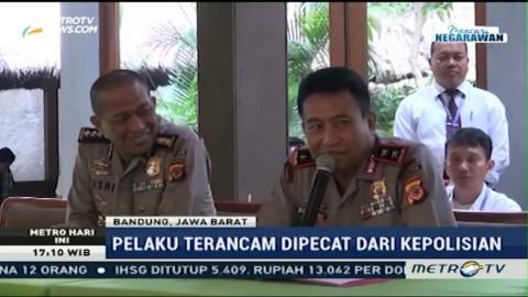 Polisi Pemeras Pelaku Penganiayaan Terancam Dipecat