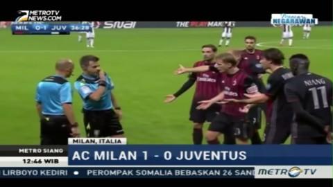 Gol Manuel Locatelli Bawa AC Milan Menang Atas Juventus
