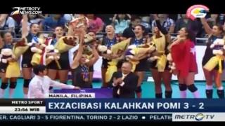 Exzacibasi Vitra Juara Dunia Liga Voli Putri