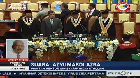 Azyumardi Azra: Pemilihan Rektor Harus Dikembalikan Kepada Senat