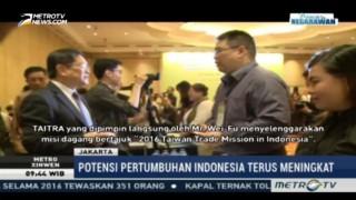 Indonesia Jadi Target Ekspor Taiwan di 2017