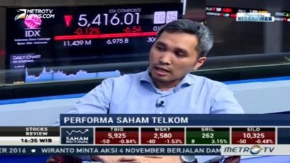 Mencermati Performa Saham Telkom
