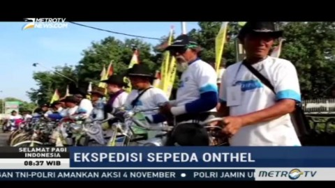 Ekspedisi Sepeda Onthel akan Lewati 15 Kota